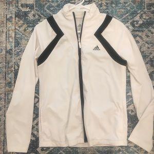 Adidas zip up athletic jacket